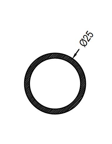 Redondo 25 x 1.3mm