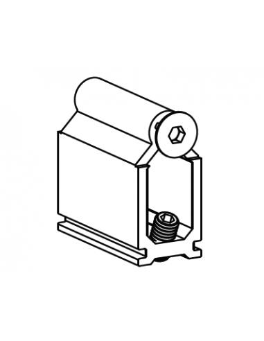 Unión Pasamanos de 77mm D´GLASS PLUS
